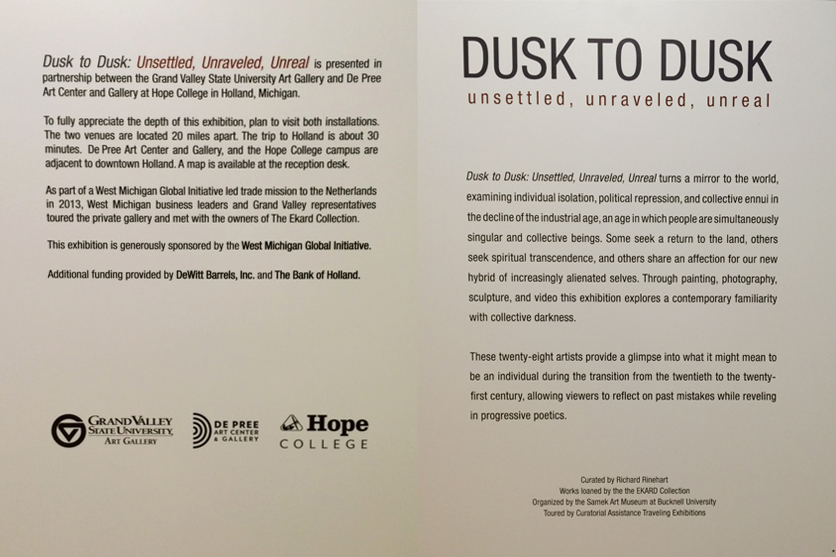 Dusk to Dusk: Unsettled, Unraveled, Unreal